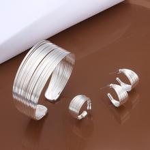 Free Shipping Wholesale Fashion Jewelry Set,925 Sterling silver jewelry Sets. Nice Jewelry. SS312(China (Mainland))