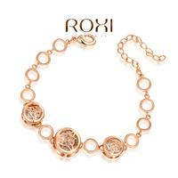 Roxi fashion jewelry austria crystal cutout rose gold  bracelet   2060201790