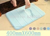 Slow rebound memory foam mats waste-absorbing slip-resistant bath mat coral fleece mat doormat carpet
