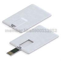 Real Capacity Creative Credit Card Shape USB Flash Memory Stick Thumb Drive 1GB 2GB 4GB 8GB 16GB