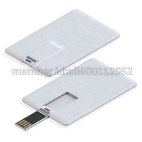 Real Capacity Creative Credit Card Shape USB Flash Memory Stick Thumb Drive 1GB 2GB 4GB 8GB 16GB
