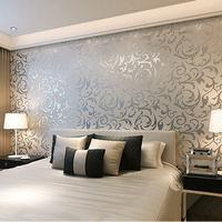 Simple European 3D stereoscopic relief crochet woven wallpaper bedroom wall living room TV backdrop wallpaper
