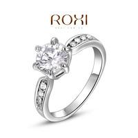Roxi fashion jewelry austria crystal platier claws  ring  2010240260