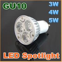 On sales GU10 3W 4W 5W LED Spot Light Bulb Spotlight lamp light AC85-265V warm cold Pure white E27 MR16 E14 GU5.3