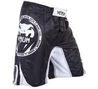 VENUM ALL SPORTS FIGHTSHORTS - BLACK  QUALITY COMBAT BOXING MMA TRAINING BJJ KICKBOXING Muay Thai