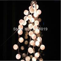 Aladin 20 White/Off White Cotton Balls String Lights Fairy,Home/Patio Deco