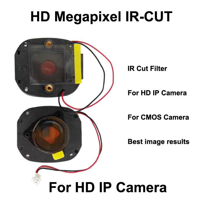 MP Megapixel IR CUT filter IR-CUT for HD Megapixel CCTV camera and IP camera double filter M12 lens holder M12*0.5 lens mount(China (Mainland))