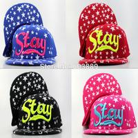 Fashion new brand star stay Snapback Caps Fashion Hip Pop Snapback Hats Street Dancing Caps for men women caps