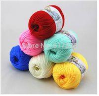 500g/lot (50g/ball,10balls/lot)  Velvet Cotton Blended Yarn,Baby knitting,sweater knitting yarn, needle work, 2mm needle
