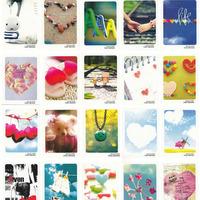 72pcs/lot HAPPY time better life love message MINI blessing lomo card postcards Korea bentoy illustrator postcard Free Shipping
