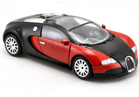 Free Shipping 1:24 Buga-tti Vey-ron Diecast Car Model Collection Toy Vehicles 3- doors Red  Collection  Model