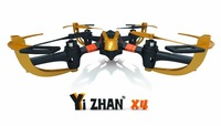 Yizhan X4 RC helicopter 4CH 2.4Ghz 6AXIS radio controlled quadcopter model toys UFO remote control 3d flying saucer with Gyro