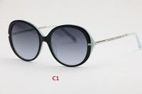 2014 free shipping new woman fashion sunglasses crystal brand sunglasses1:1 original quality designer sunglasses with box  T4060