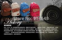 Backpack zipper canvas han edition chest dark bag new package Simple change handbag joker