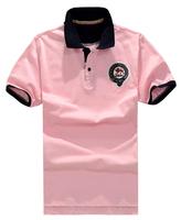 Free shipping plus size brand XXL 4xl 6xl 8XL brand tops military clothing men short-sleeve turn-down collar t-shirt men t-shirt