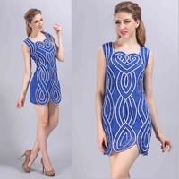 new fashion ever pretty casual summer dress 2015,women summer dress,women clothing 2015,party dresses,party dresses