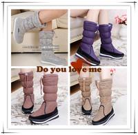 Free shipping! women's Berber fleece snow boots snow cotton high snow boots