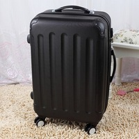 Universal wheels trolley luggage travel bag luggage bag luggage 20 24 28,pink,yellow,orange,red,white,black trolley luggage