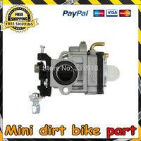 Free shipping 2-stroke pocket bikes mini choppers dirt bike Carburetor
