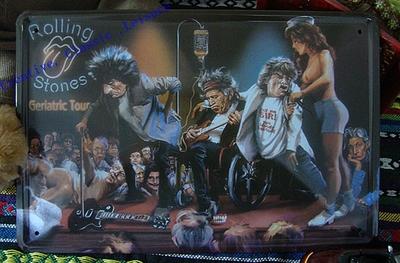 Free shipping Creative bands metalic posters, music bands Retro Tin Sign Pub Bar Wall Art Decor 30x20cm(China (Mainland))