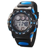 2014 New Children's Watch LED Electronic Alarm Multifunctional 30m Waterproof Children Digital Watches Student Sports Wristwatch