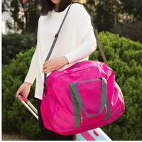 New arrival  gym bag Portable folding waterproof sport bag for women Outdoor large Shoulder Bags gym bags women