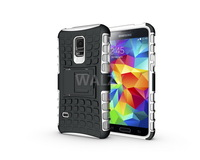 for s5 mini case back best quality 8 colors hot sale luxury TPU soft silicone with PC plastic cover for galaxy s5 mini 113pcs