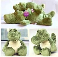 80cm long crocodile NICI plush doll station shall lie crocodile doll birthday holiday gift money to send children plush toy car