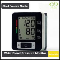 2 pcs/lot Automatic Digital Wrist Blood Pressure and Pulse Monitor Sphygmomanometer OximeterPortable Blood Pressure Monitor