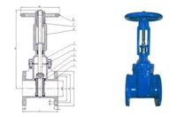 Resilient seated gate valves OS&Y Flanged ends F4 / F5 BS5136