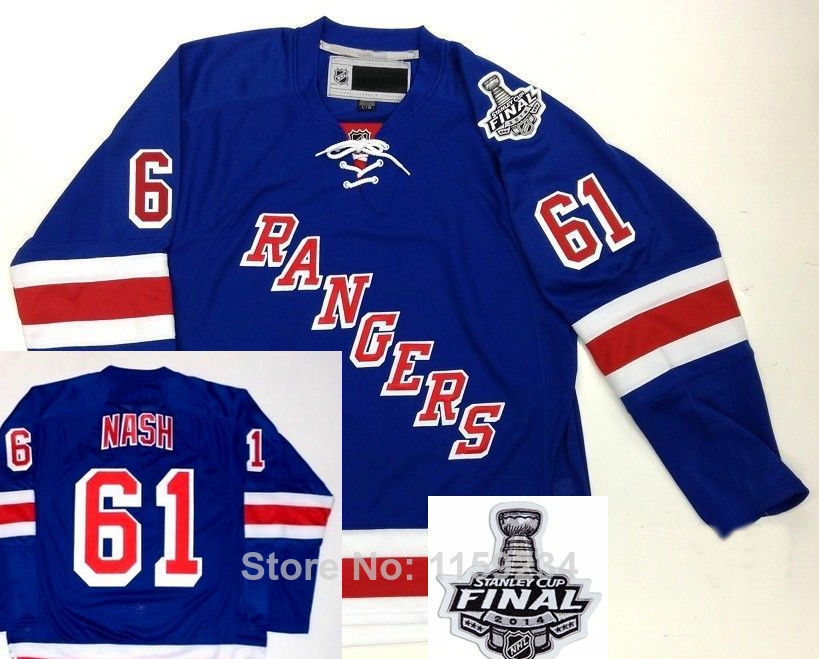 New Free shipping Cheap,2014 Stanley Cup New York Rangers Jersey Rick ...