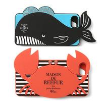 New 3D Touch Sense Petite Mei Cute Crab case for iPhone5s, Maison DE REEFUR CRAB SOFT CASE FOR IPHONE 5,Whale case for iphone5