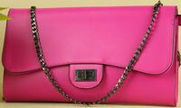 The new fashion leisure leather handbag shoulder bag handbag ladies handbag bag diagonal packet 31.5*19*5CM NBA149 Y8PA