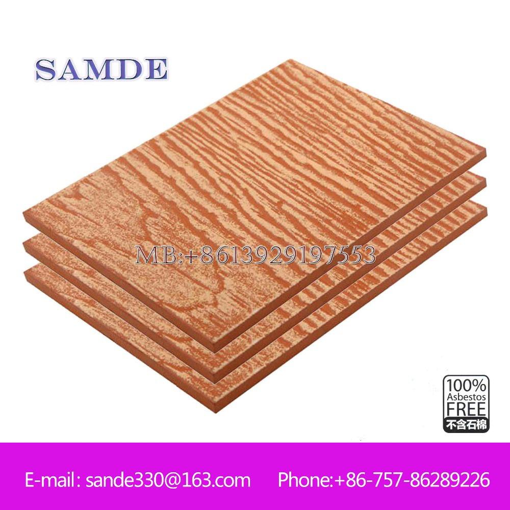 Achetez en gros rev tement ext rieur en bois en ligne for Panneau ciment exterieur