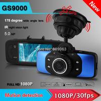 "GS9000 Car DVR Ambarella A2S70 Full HD 1080P 2.7"" LCD with Vehicle Camera Driving Recorder G-Sensor GPS logger Dash Cam"