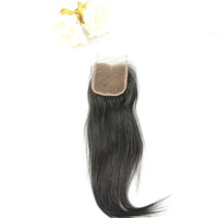 Indian Virgin Hair Straight, Middle Parting Lace Closure( Size 3.5''*4'') , Hair Extensions Cheap Price Queen Hair Products