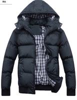 5 Size M L XL XXLXXXL New RLX Brand Winter men's Coats men Grid outwear sport jacket  Free shipping CMR177