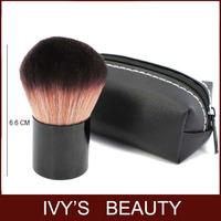 1 pc blusher blush brush professional makeup tool premium goat hair with black bag case