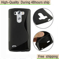 High Quality Soft TPU Gel S line Skin Cover Case For LG G3 Mini Free Shipping UPS DHL EMS CPAM HKPAM 2