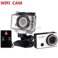 action camera ,sport cam 1080P Full HD Waterproof with WIFI Support Control Helmet DVR digital video gopro mini camara