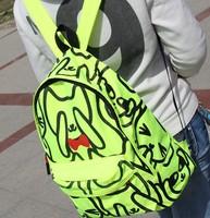 Back to School Children Cartoon Cute Book Bags Canvas Animal Printing Backpack School Bags for Teenage Girls Mochilas Rucksack