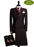 Perfect Double Breasted customer made Gentleman Business Suit
