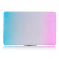 """Ultra-thin Gradient Ramp Pattern Protective Case Cover For Apple MacBook Pro Retina 13.3"""" Laptop Free Shipping"""