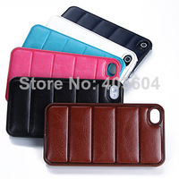 JOYLAND Bread sofa Solid Color PU Leather Case For iPhone 4/4S(Assorted Color)