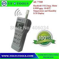 AZ 77535 Digital CO2 Meter \Handheld Analyser CO2 Temp.RH Meter