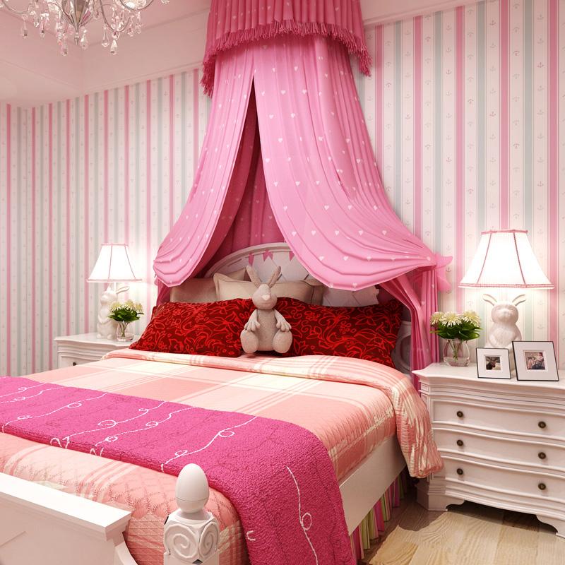 pink wallpaper for girls bedrooms images