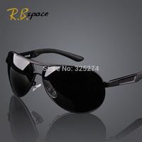 Hot 2014 Fashion Men's UV400 Polarized coating Sunglasses men Driving Aviator Mirrors Eyewear Sun Glasses for Men with Case Box