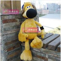 50cm high Genuine NICI Shaun yellow dog head dog plush toy doll birthday holiday gift to send children home furnishings car doll
