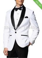 2014 Fashion Slim Fit Tuxedo Men Wedding Suits