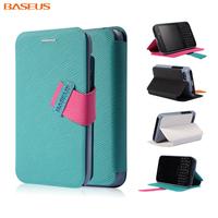 Hot Sale ! Baseus Brand  Faith Series ultra-thin Horizontal Flip leather case For blackberry q5 holsteins mobile phone case